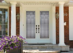 Decorative Door Glass Forest City Window and Door
